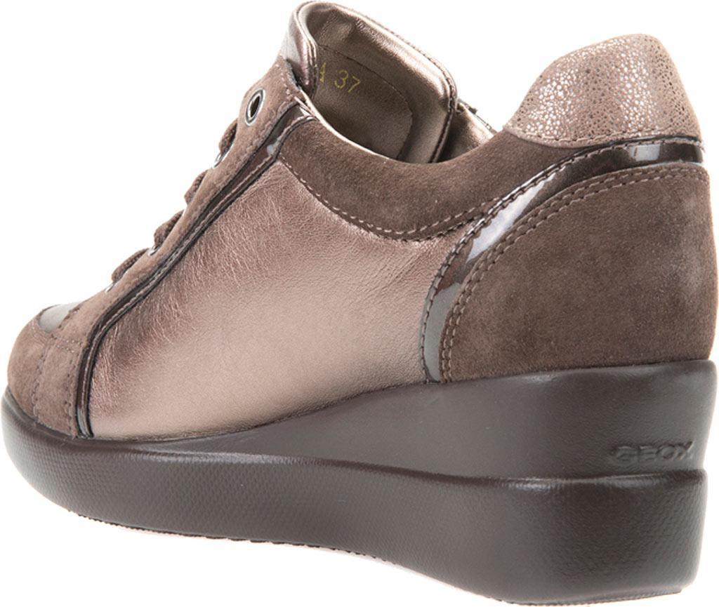 Geox - Gray Stardust D6430a Wedge Sneaker - Lyst. View fullscreen 228959452fc
