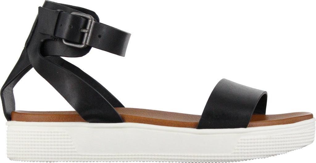 d89db396e854 Lyst - MIA Ellen Ankle Strap Sandal in Black
