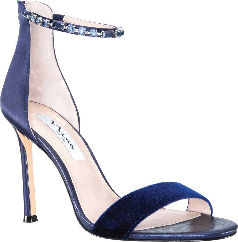 8efab7b63d91 Lyst - Nina Deena Ankle Strap Stiletto Sandal in Blue