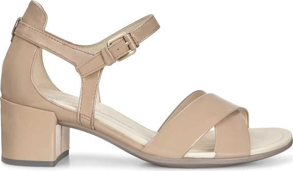 118e64b16a08 Ecco - Natural Shape 35 Block Ankle Strap Sandal - Lyst. View fullscreen