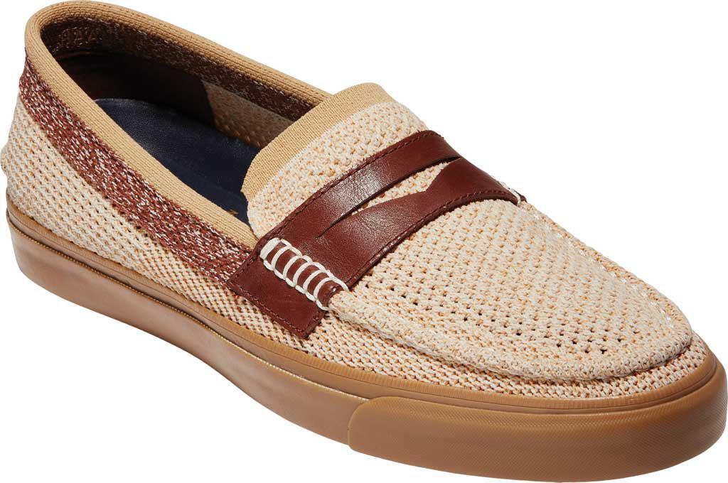 Cole Haan Pinch Weekender LX Stitchlite Penny Loafer(Men's) -Navy/Morel Leather Discounts Online zmplv8nDZN