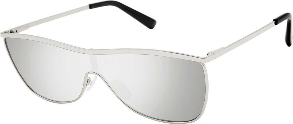 54f4216beff Lyst - Sam Edelman Se147 Aviator Sunglasses in Metallic