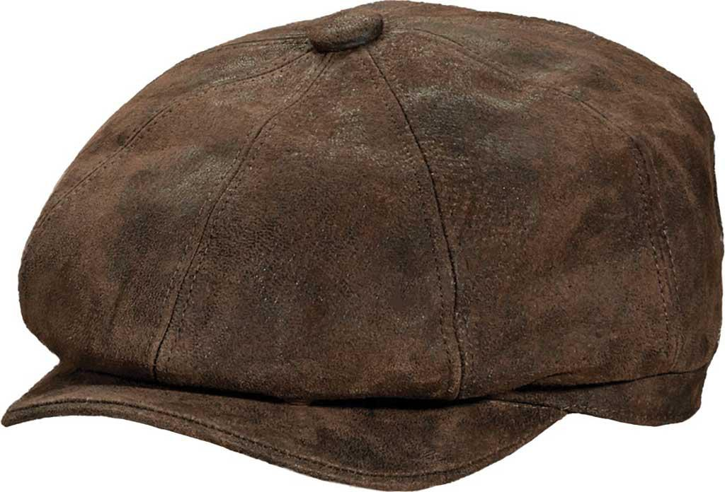 955e41dc62232 Stetson Stw199 Weathered 8 4 Newsboy Cap in Brown for Men - Lyst