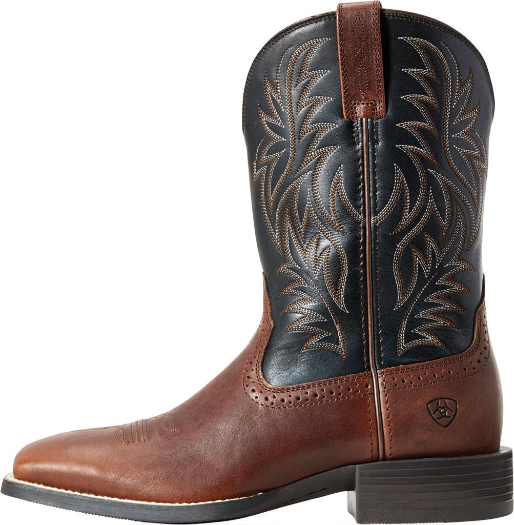 190068e95cf Ariat Sport Western Wide Square Toe Boot in Black for Men - Lyst