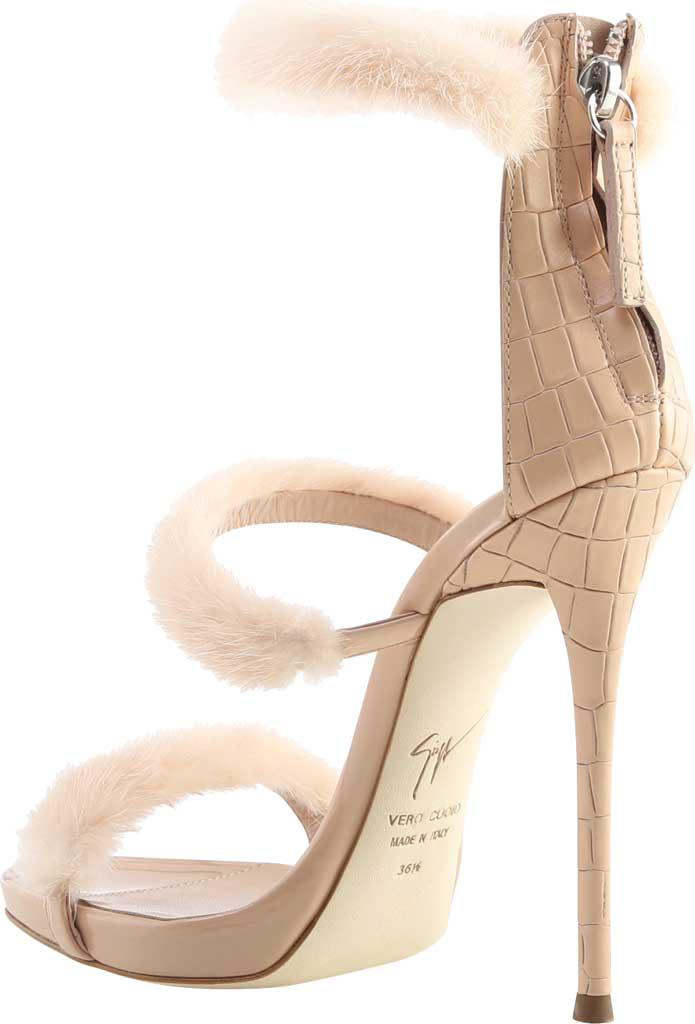 Giuseppe Zanotti Anima Embossed Leather Stiletto Heel Pump (Women's)