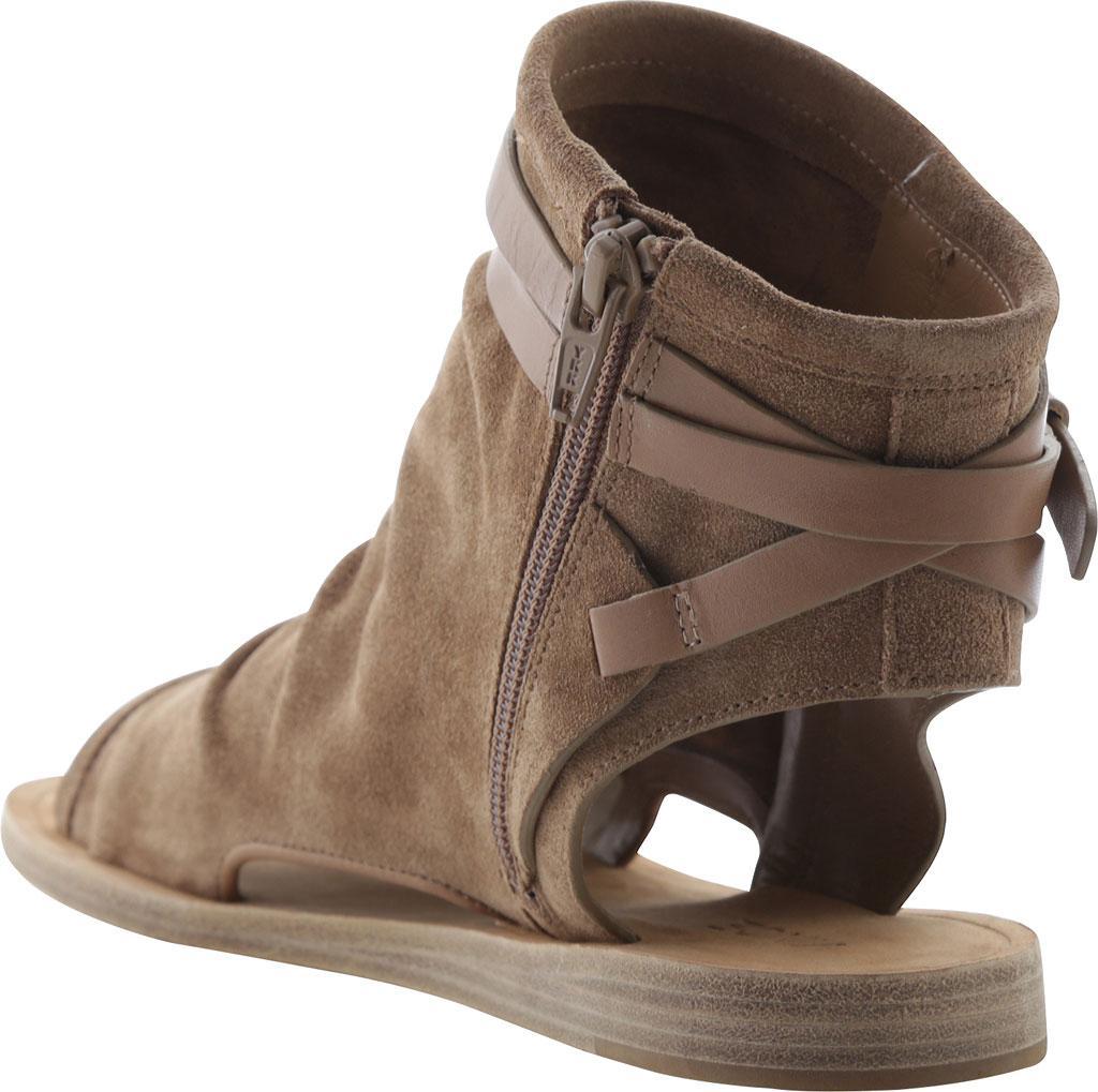 e05d9178d661 Lyst - Vince Women s Thalia Slouchy Suede Cutout Flat Sandal Sand ...
