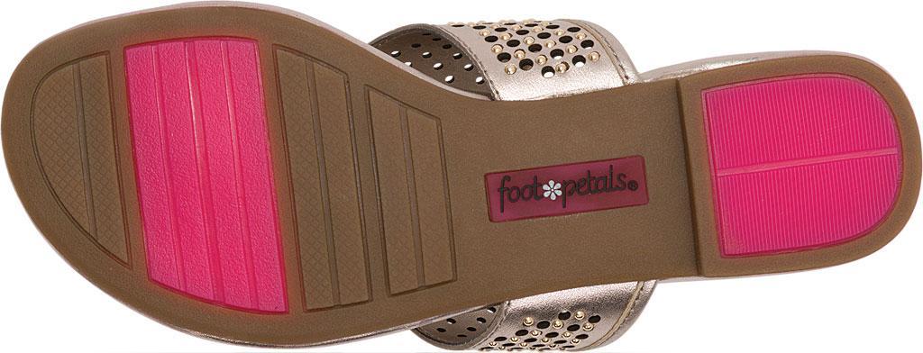d1c9e44ac8f8 Lyst - Foot Petals Evie Embellished Thong Sandal
