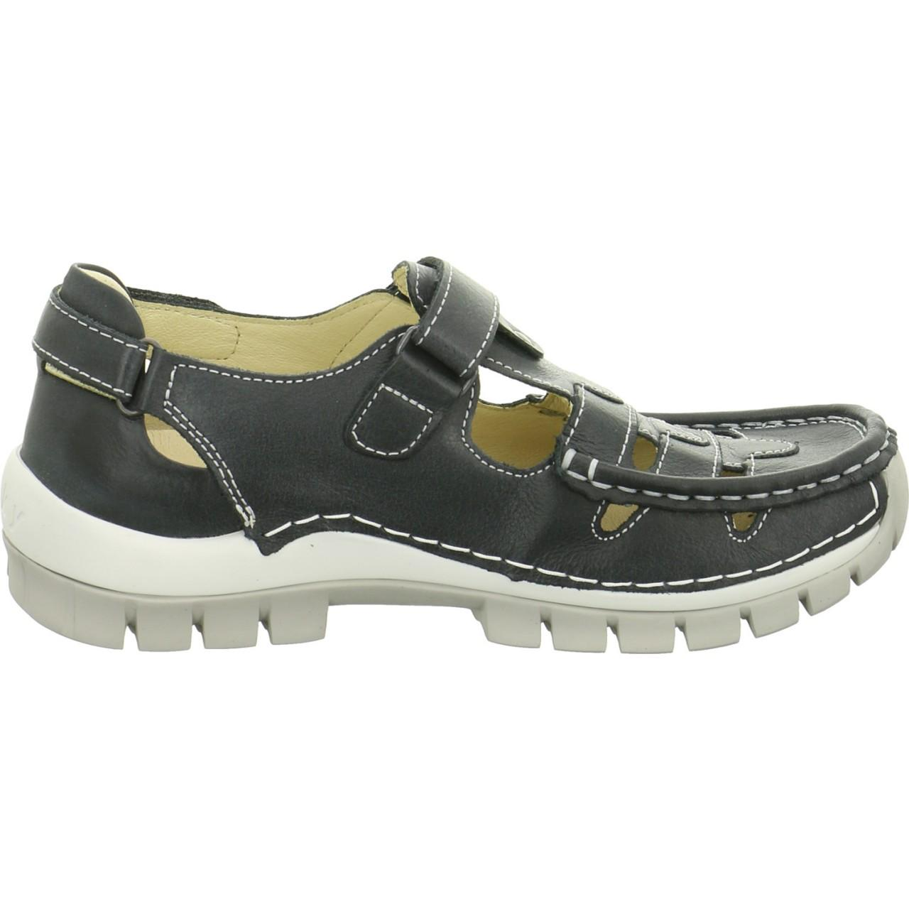 bdebf29a8123a Wolky Wo Comfort Slip-ons Black Move Black Summer in Black - Lyst