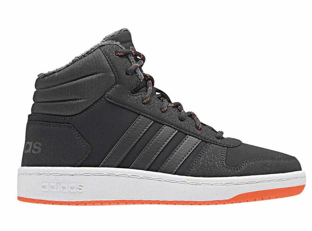 hot sale online 096f1 10336 adidas Kids Boys Trainers Grey High Hoops Mid 2.0 in Gray for Men - Lyst