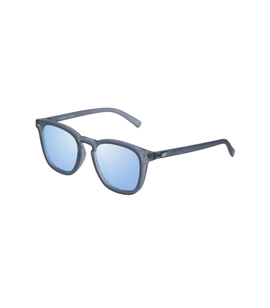 0d2375795db6 Lyst - Le Specs Slate Rubber No Biggie Sunglasses