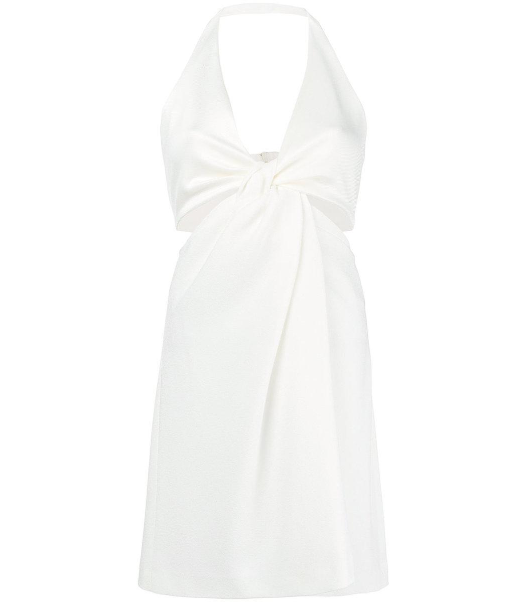 Eclipse mini dress - White Galvan FhMuIaO