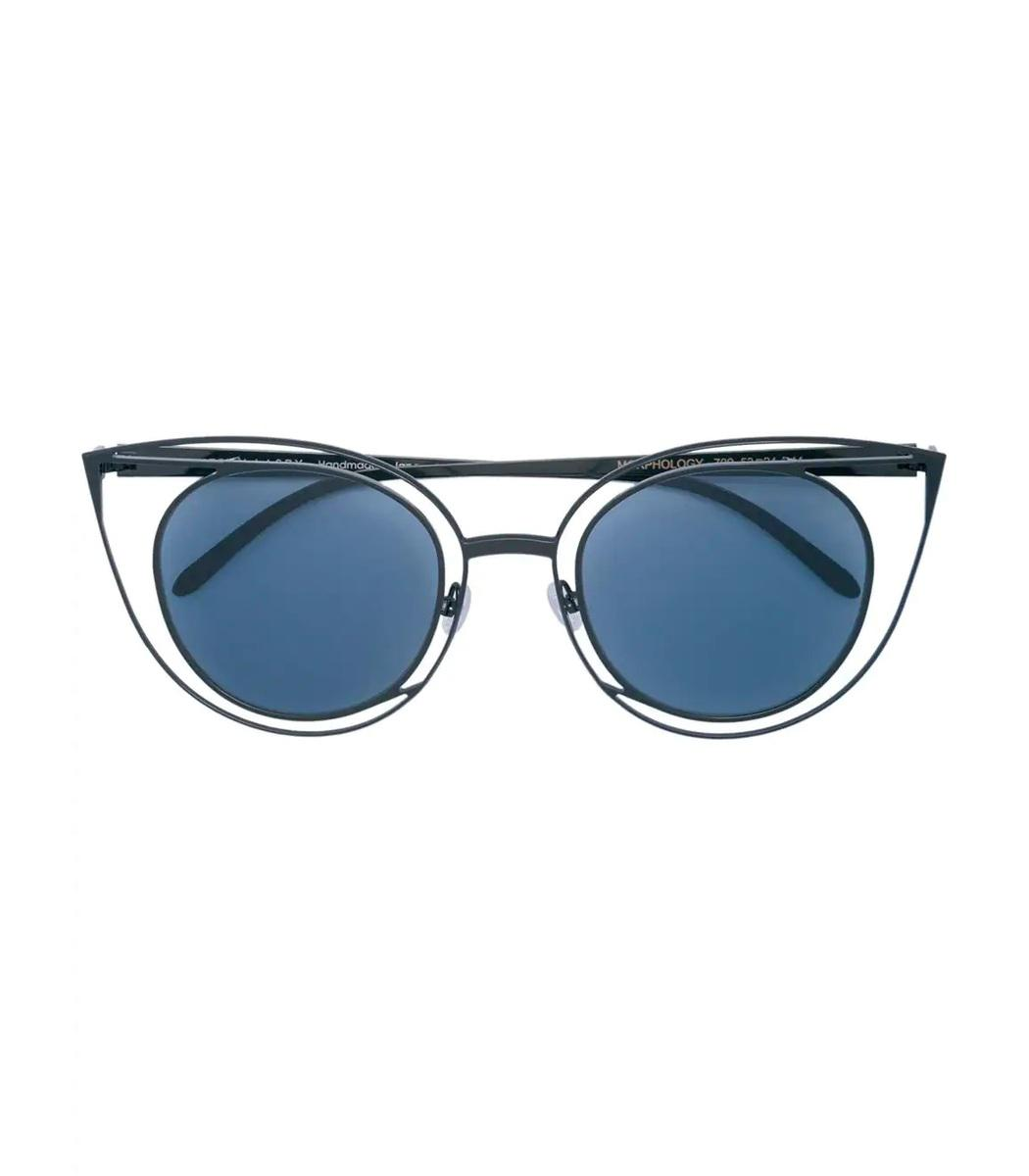 eb9e0e4bfc Lyst - Thierry Lasry Morphology Cat Eye Sunglasses in Metallic