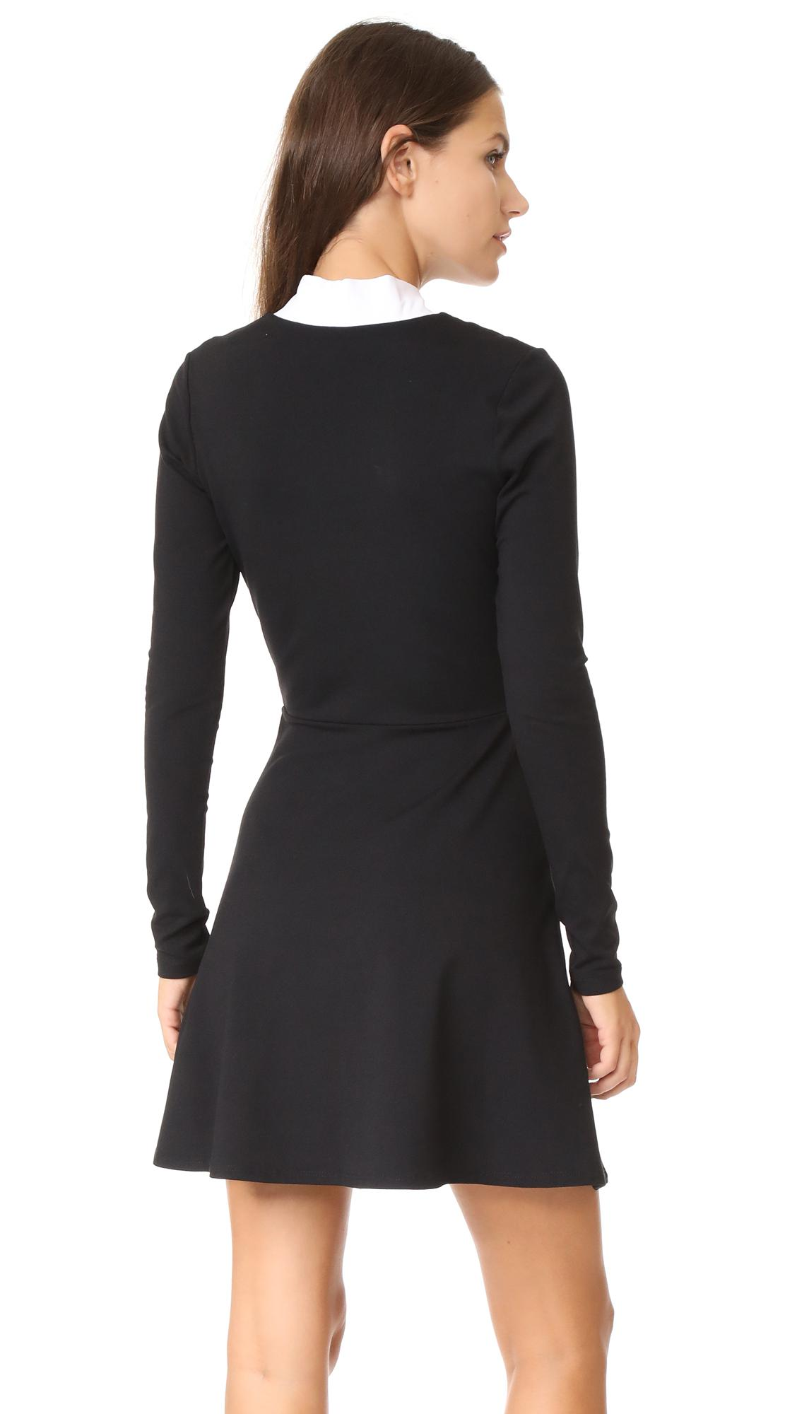 d96b7ae1a6 Susana Monaco - Black Neive Dress - Lyst. View fullscreen