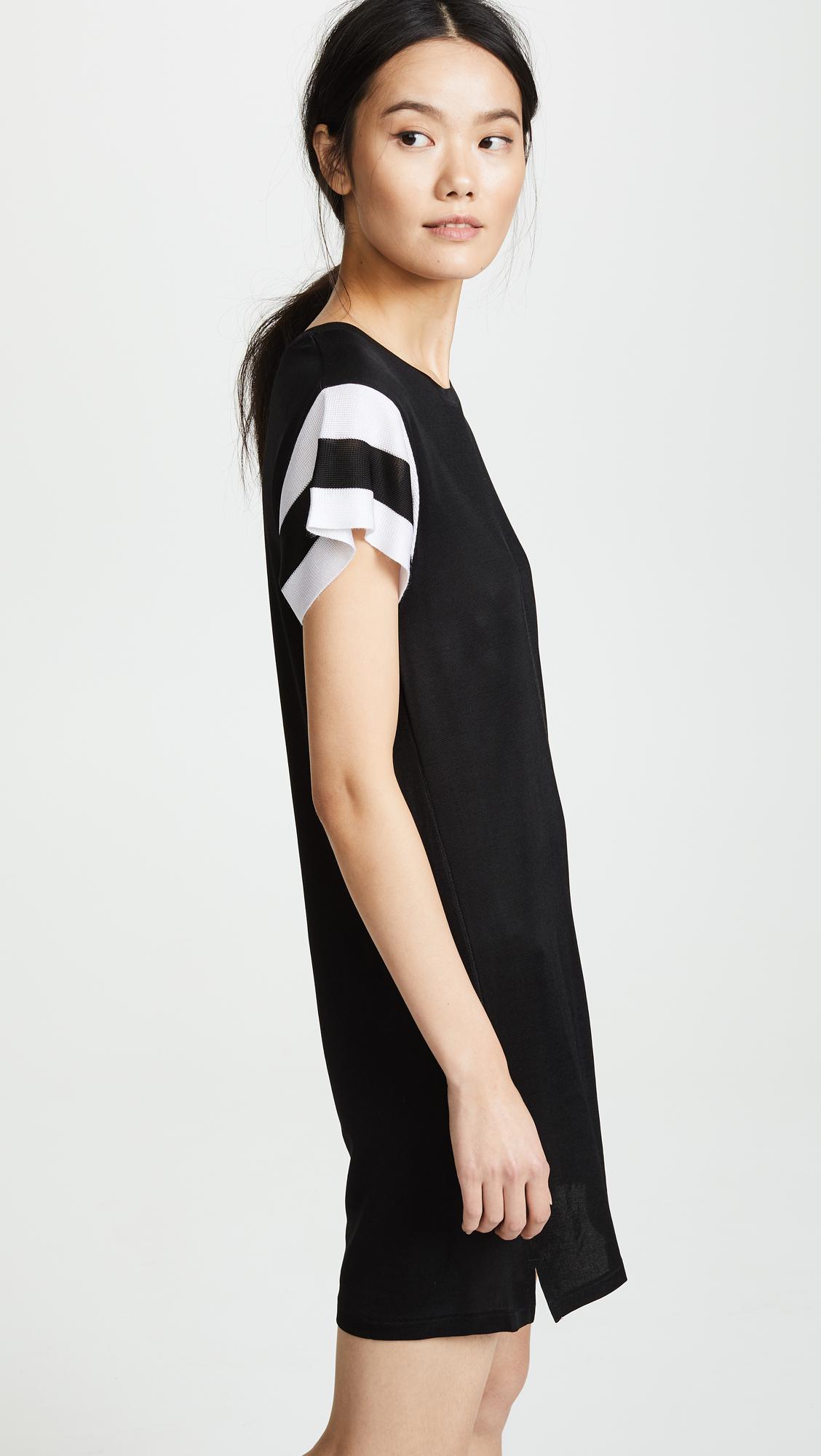 Black Penny T-Shirt Dress Rag & Bone ilVeF7lnzw
