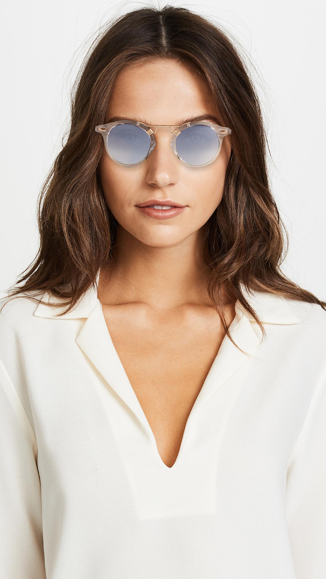 71837eedfc Krewe - Gray St Louis Sunglasses - Lyst. View fullscreen