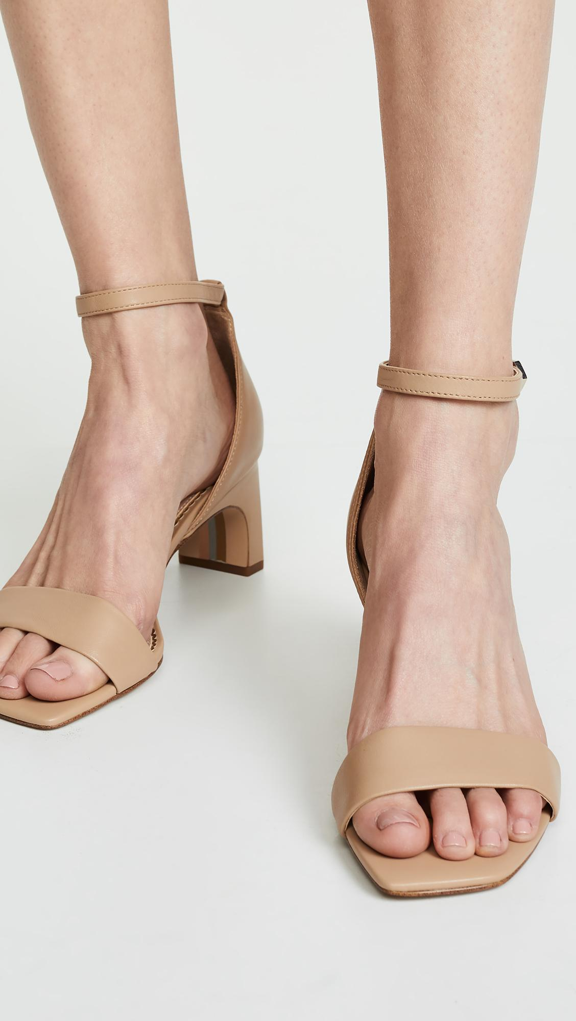 24ed3c60c4b3 Sam Edelman Holmes Sandals in Natural - Lyst