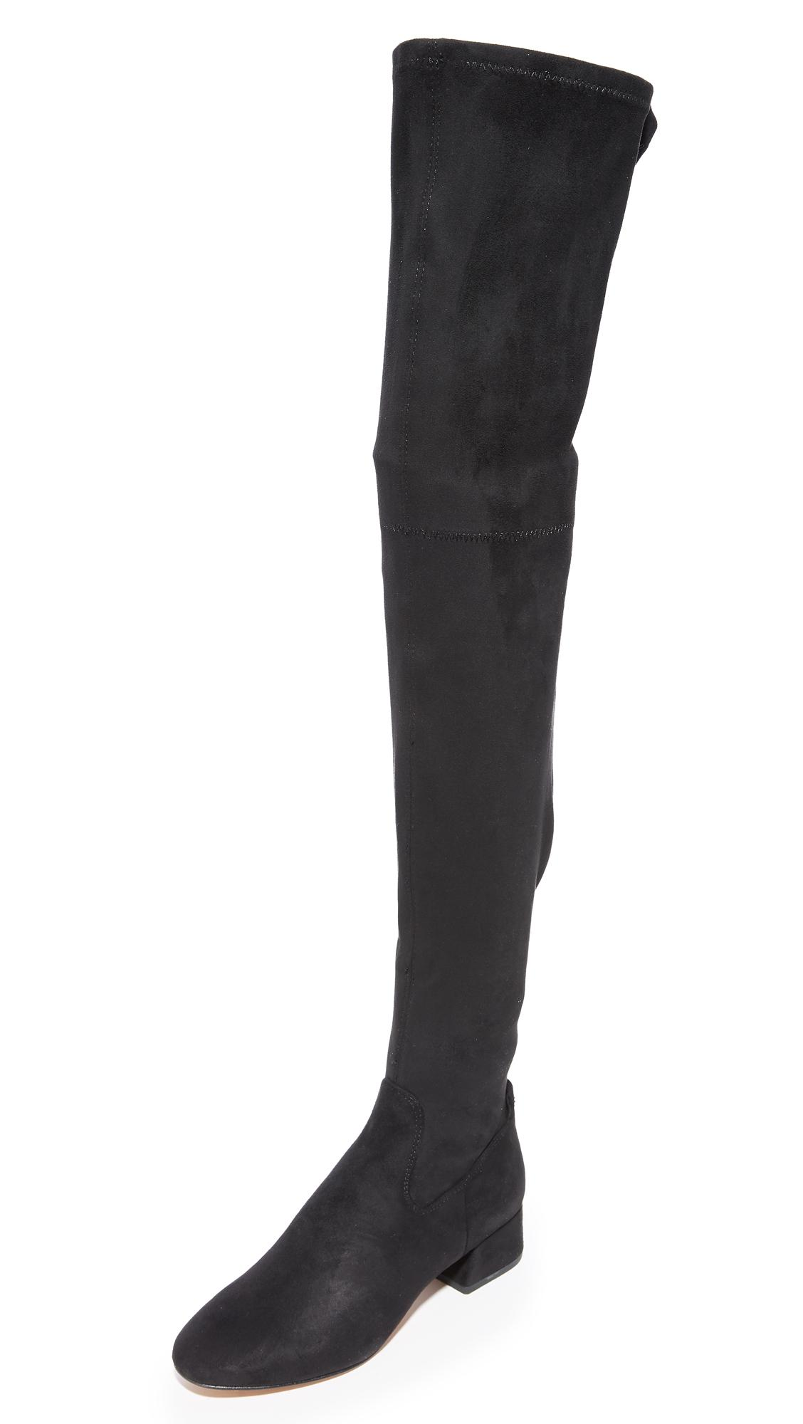 0a9c9483433 Lyst - Dolce Vita Jimmy Over The Knee Boots in Black