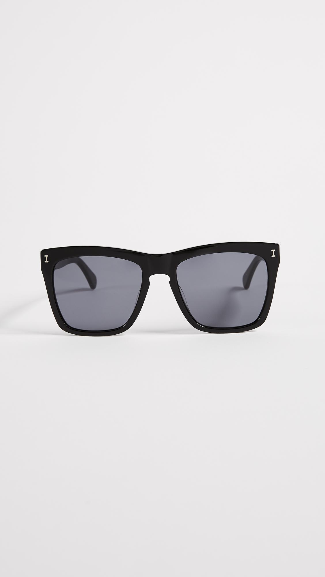 ff5a6dd18c Illesteva Los Feliz Sunglasses in Black - Lyst