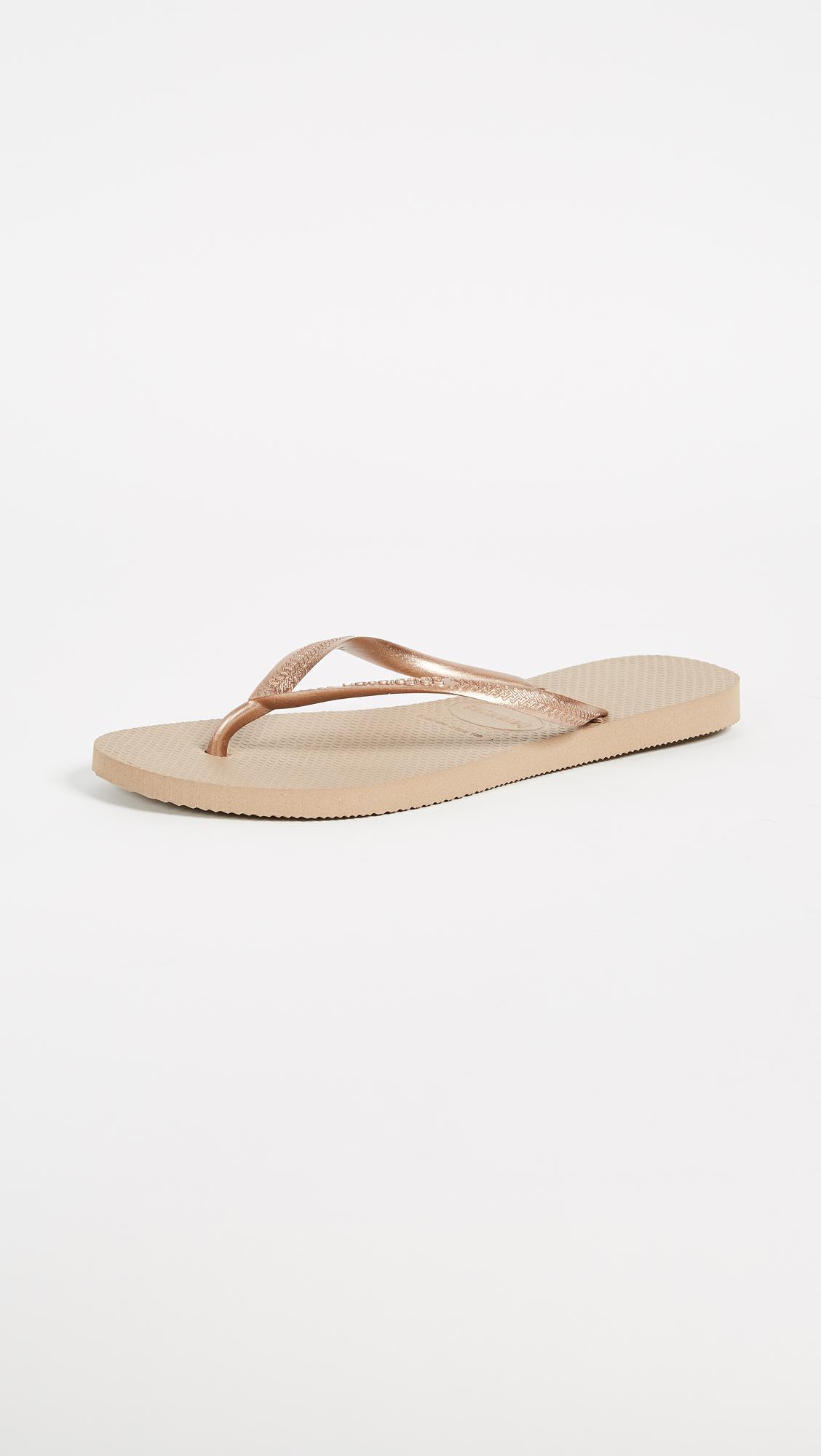 2f0181766187e4 Havaianas Slim Flip Flops - Save 33% - Lyst