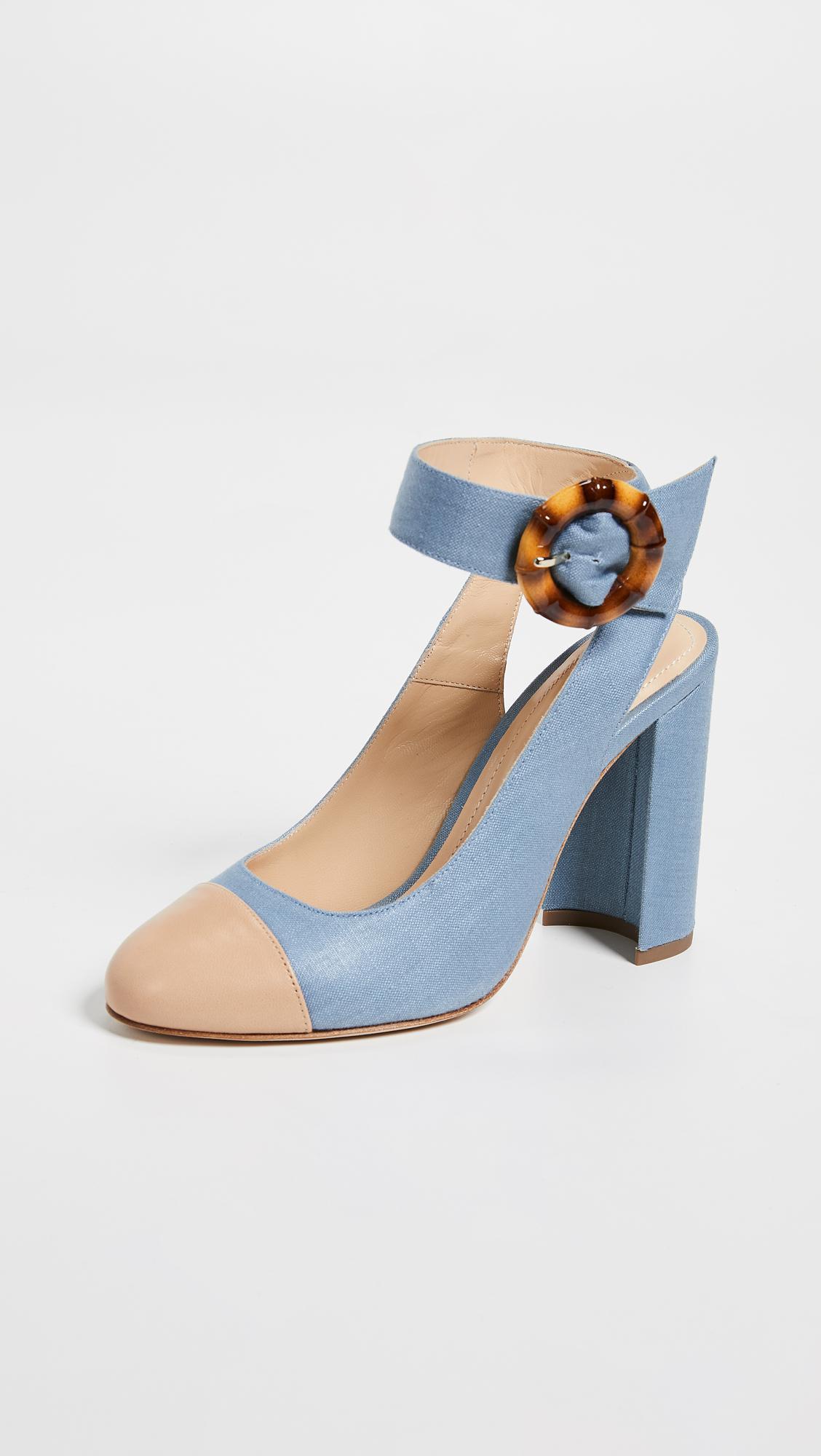 a11d5fc4f65219 Chloe Gosselin Ellen Pumps in Blue - Lyst