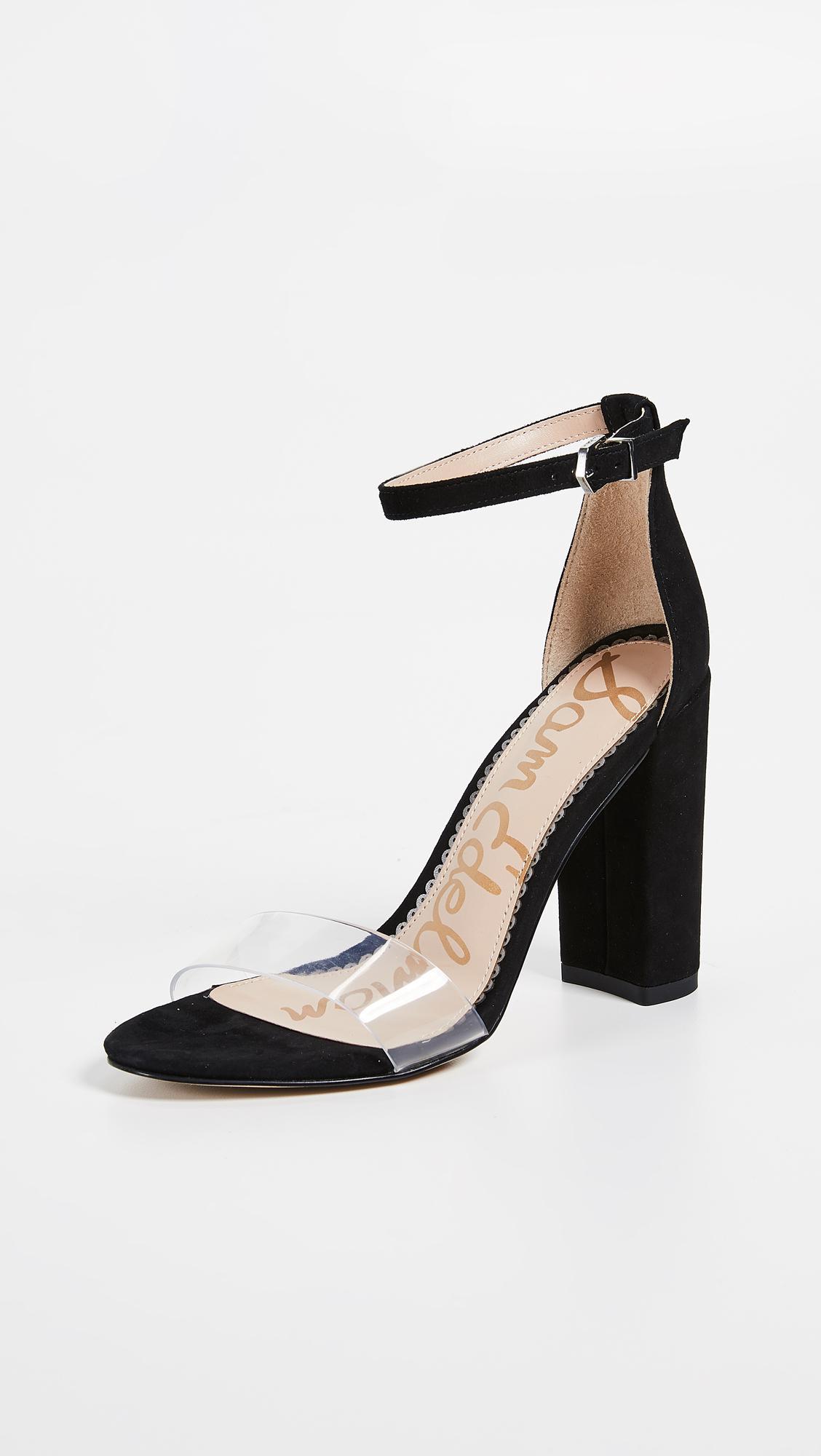 7e69637aaebec0 Lyst - Sam Edelman Yaro Sandals in Black