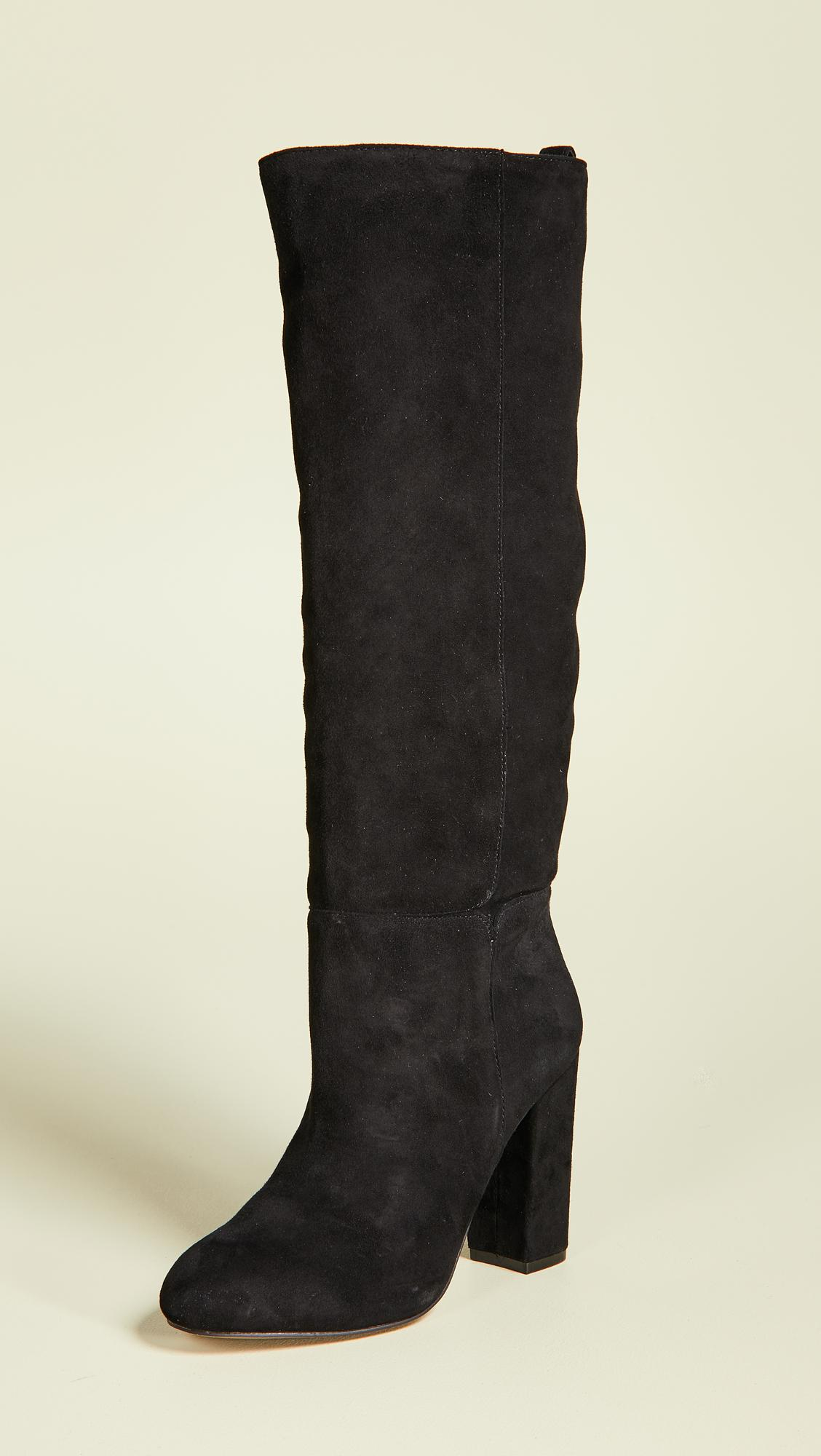 ed5c53ce0be Lyst - Steven by Steve Madden Tila To The Knee Boots in Black