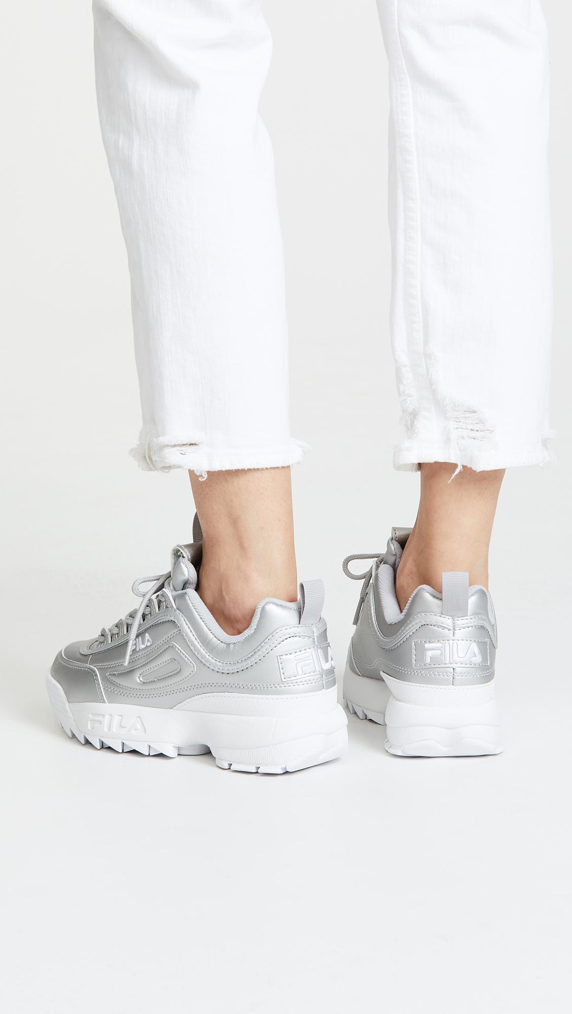 In Sneakers Disruptor Fila Premium Ii Metallic Lyst wqX8BfYxq
