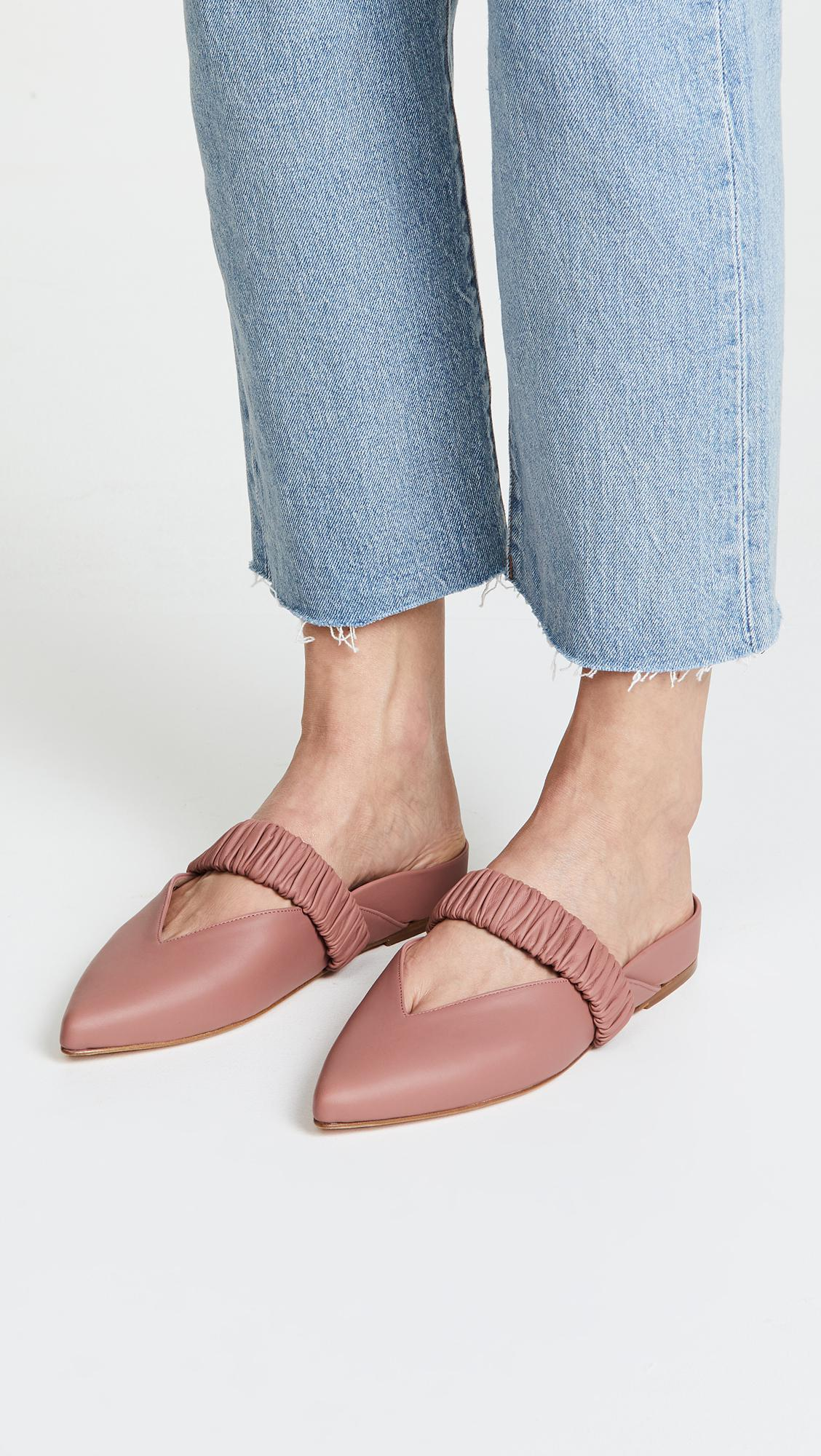Footlocker Finishline Sale Online Stuart Weitzman Women's Indira Pointed Toe Mules Cheap Sale Wholesale Price Supply Cheap Price eKezNefCxD