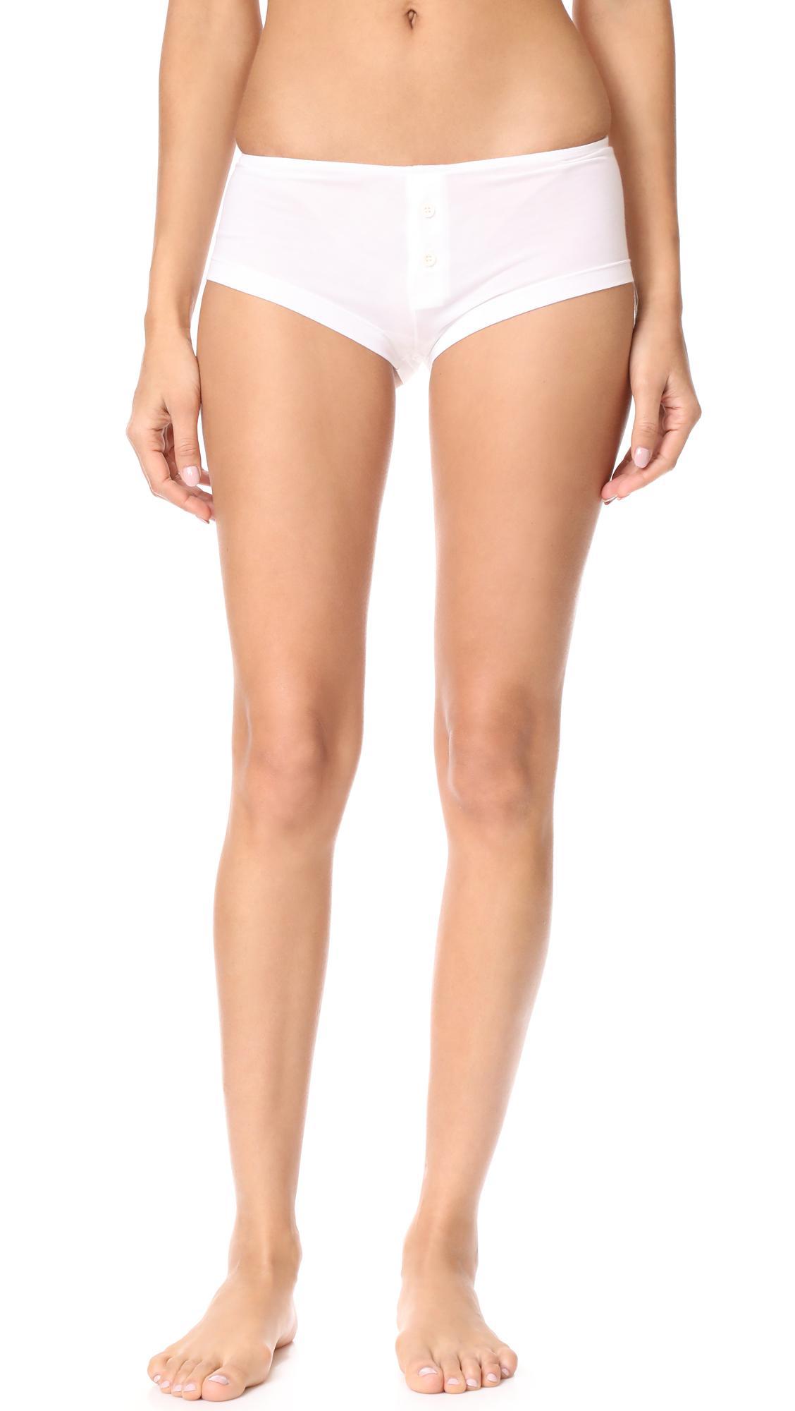 Kiki de Montparnasse Stretch-lace Boy Shorts Affordable Sale Online Free Shipping Explore MetqLxgl