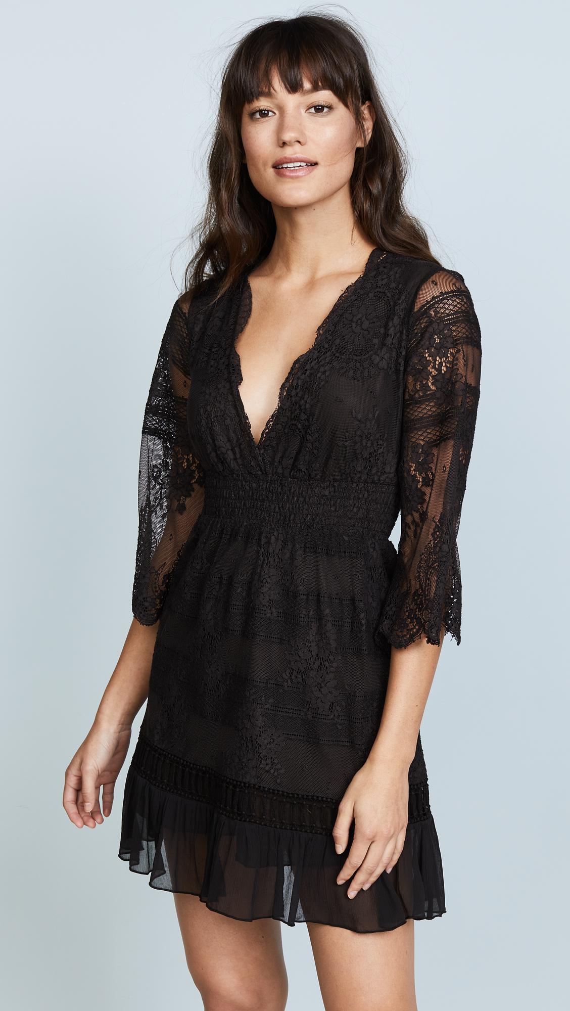black dress temptation