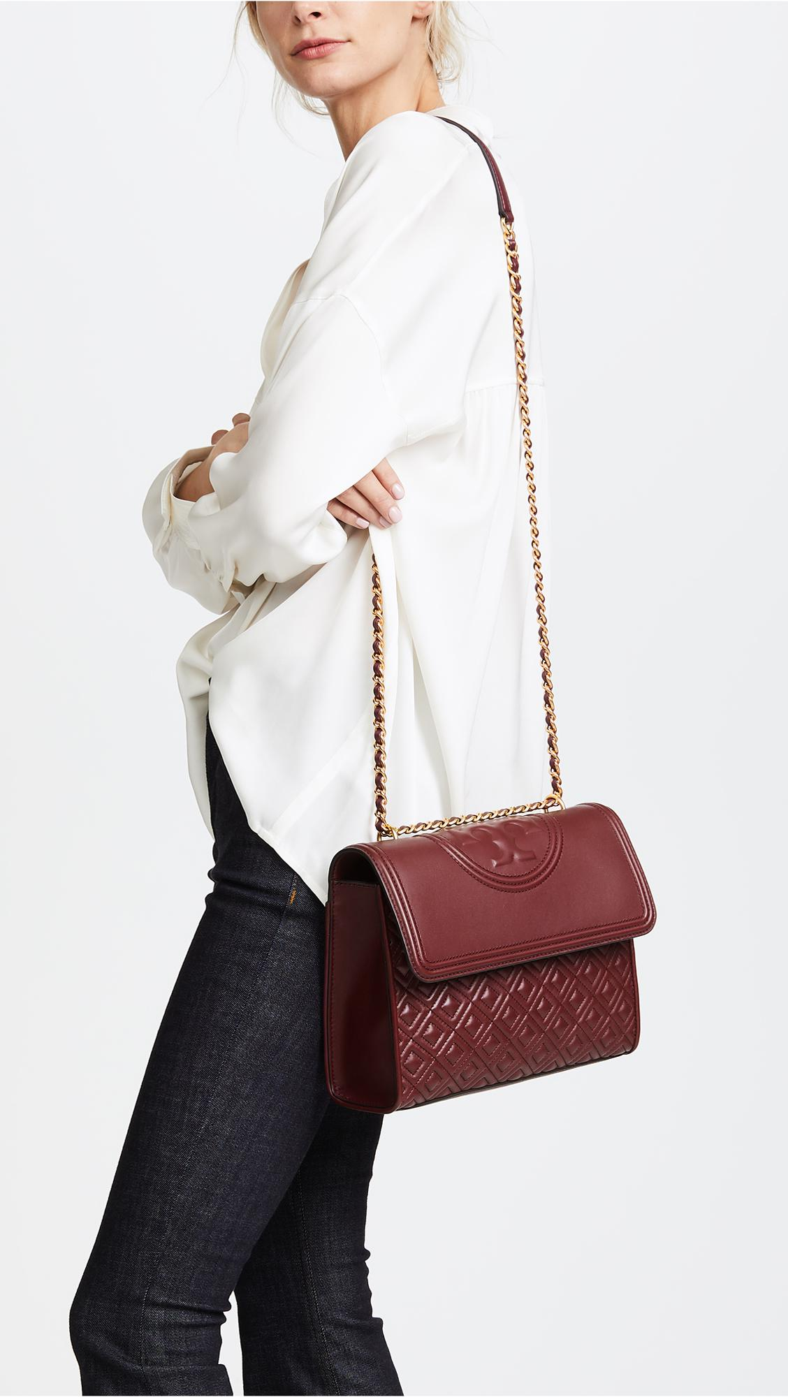 customers first elegant and sturdy package fashion design Tory Burch Multicolor Fleming Convertible Shoulder Bag