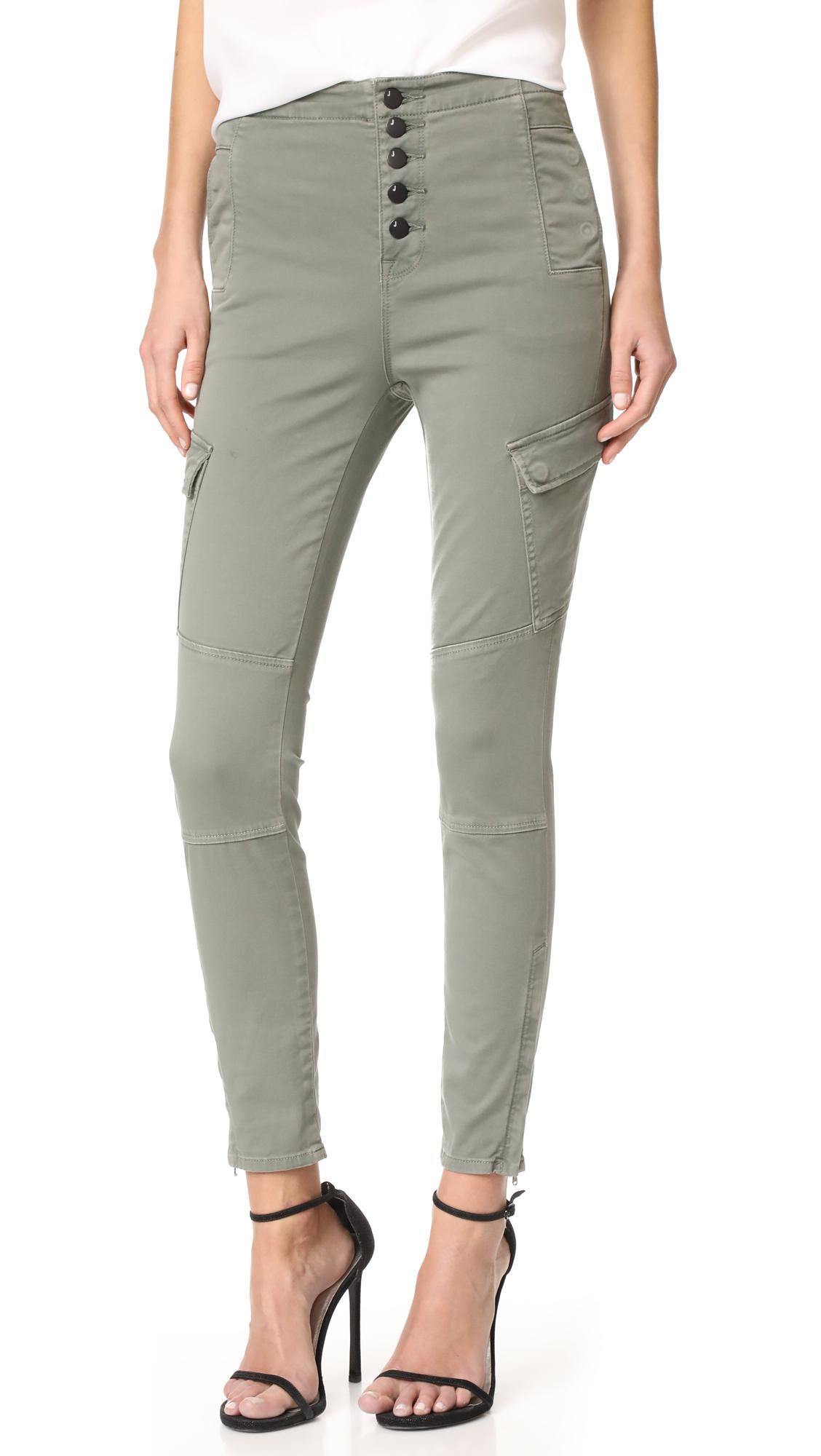 For Sale Footlocker Buy Cheap New Arrival Womens Brigette Sky High Utility Cargo Jeans J Brand mIfjmrBR8