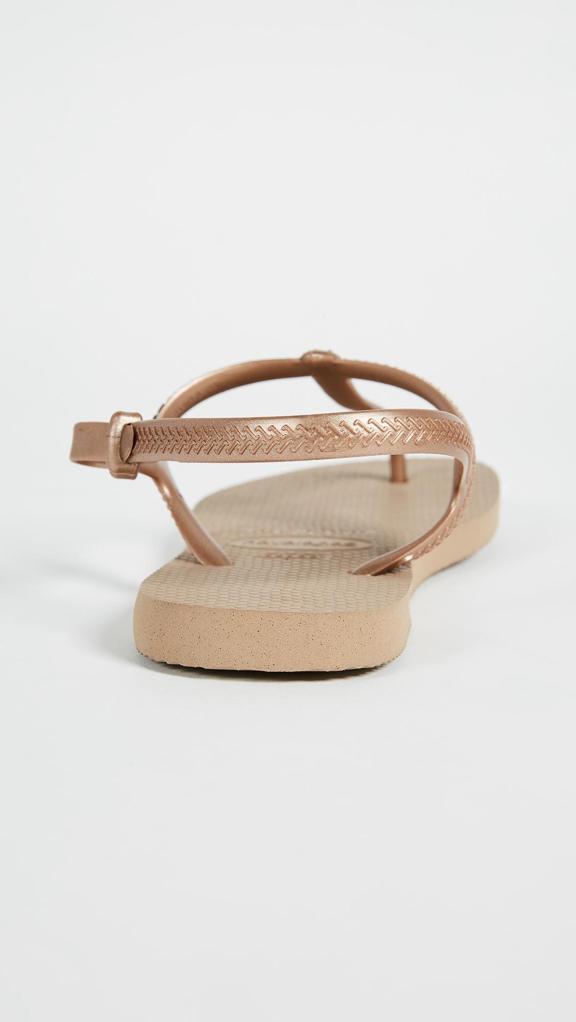 deacc64d91580e Havaianas - Multicolor Freedom T Strap Sandals - Lyst. View fullscreen