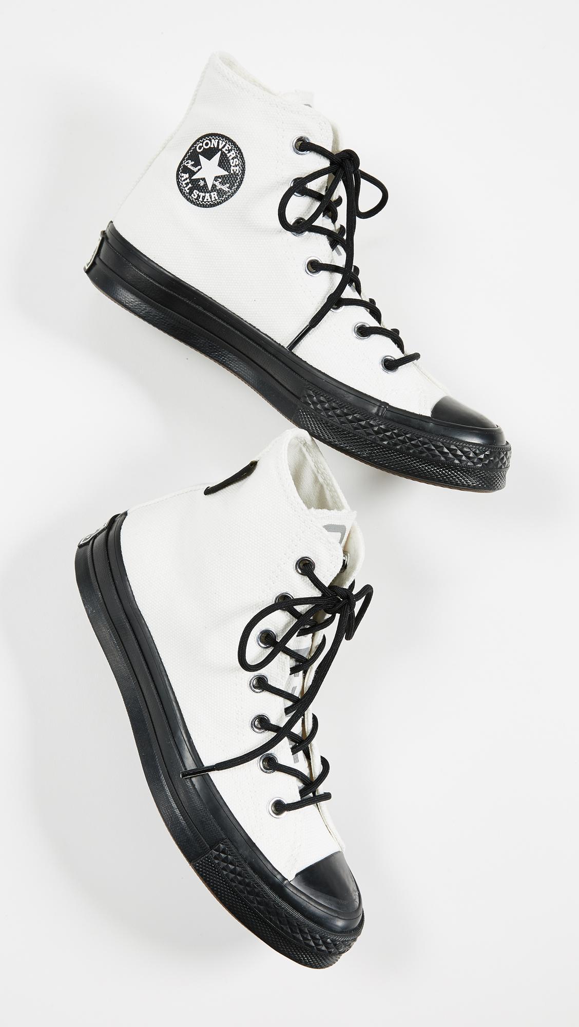 65b08f7fc356 Converse Chuck 70 Gore Tex High Top Sneakers in White - Lyst