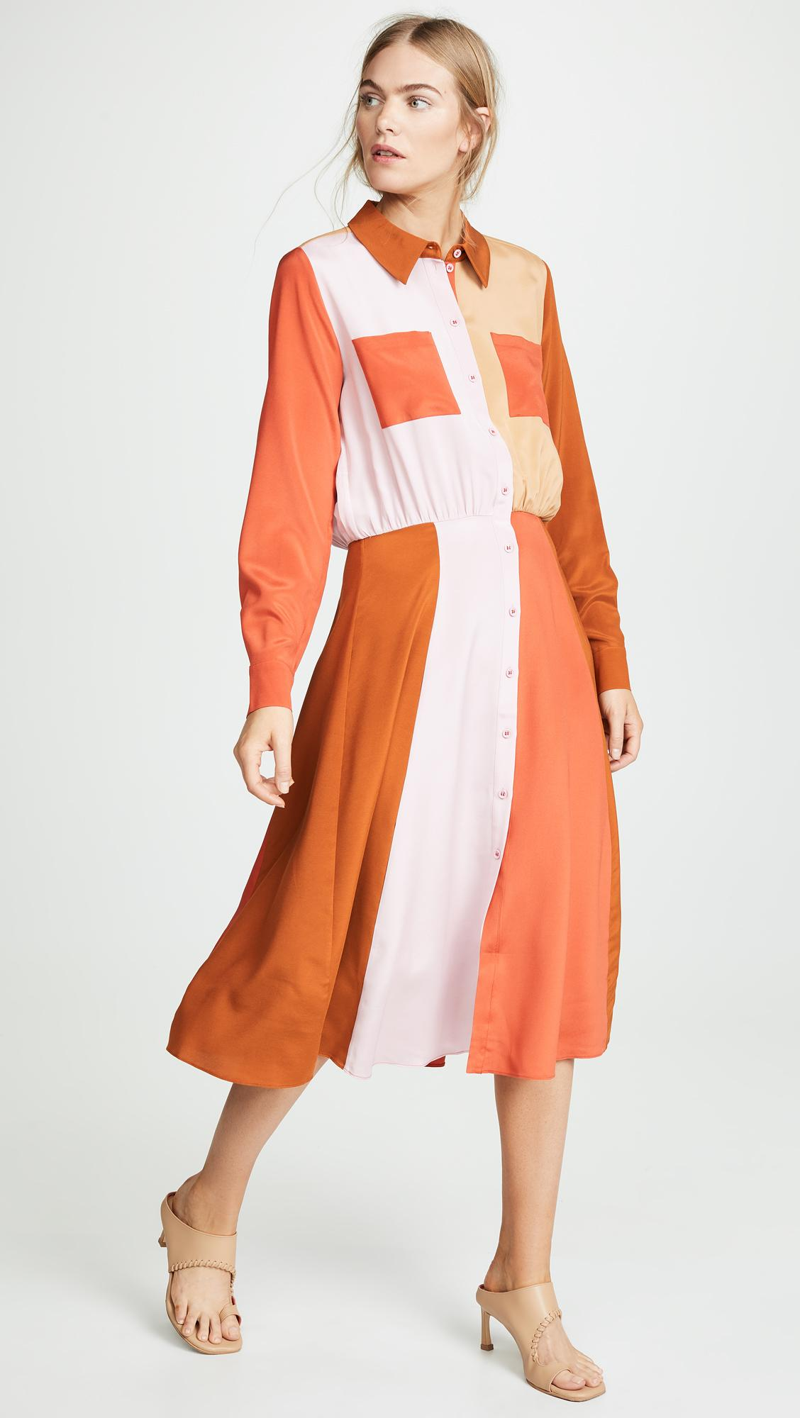 9277f7777 Stine Goya Renee Dress in Orange - Lyst