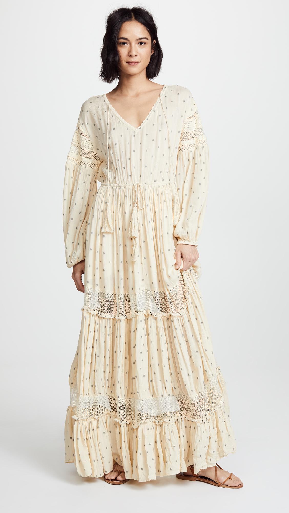93deff727f82a Free People Sada Maxi Dress in White - Lyst