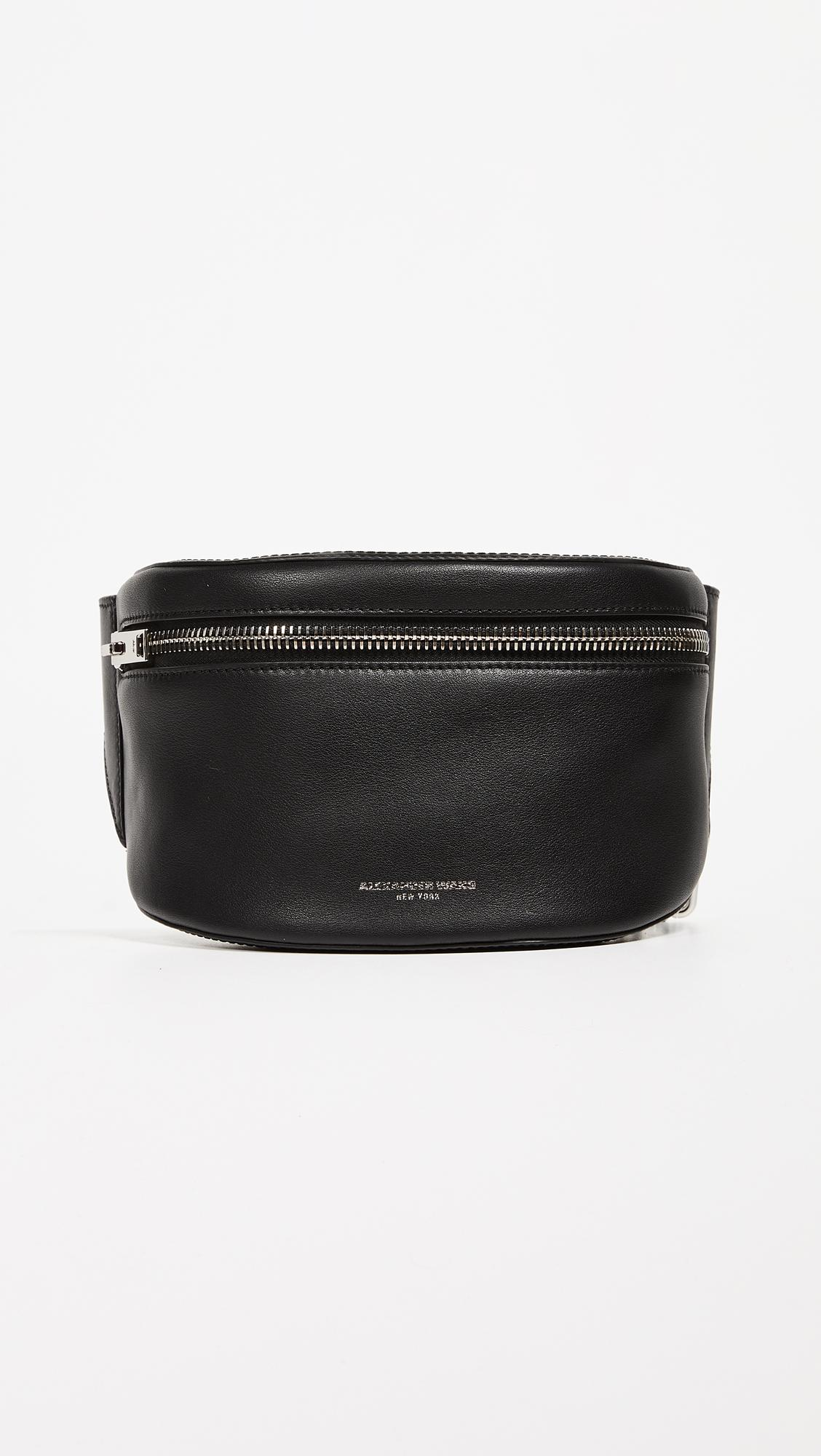 Ace Fanny Pack in Black Calfskin Alexander Wang E47GTQ