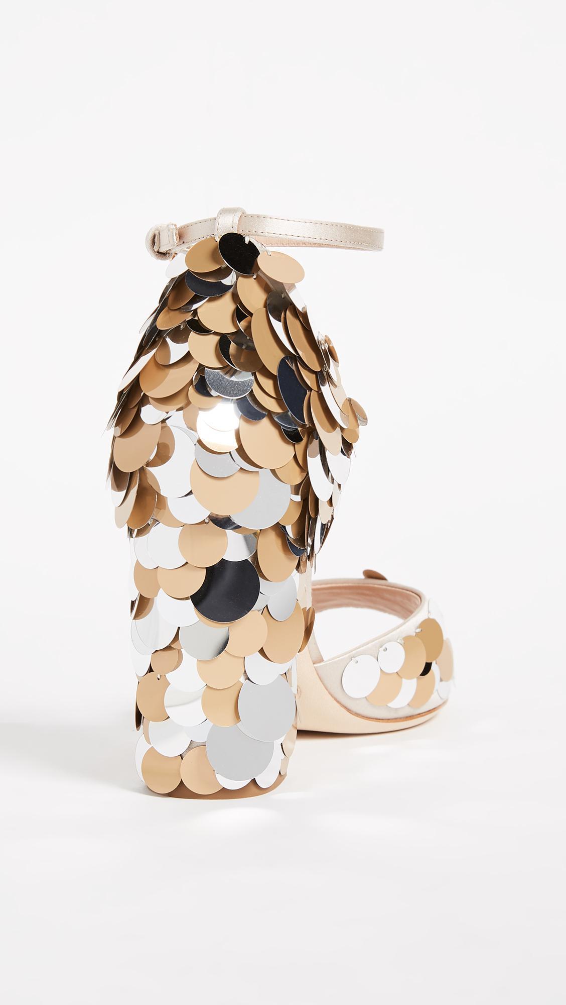 42e67896896 Lyst - Gedebe Jenny Sandals in Metallic