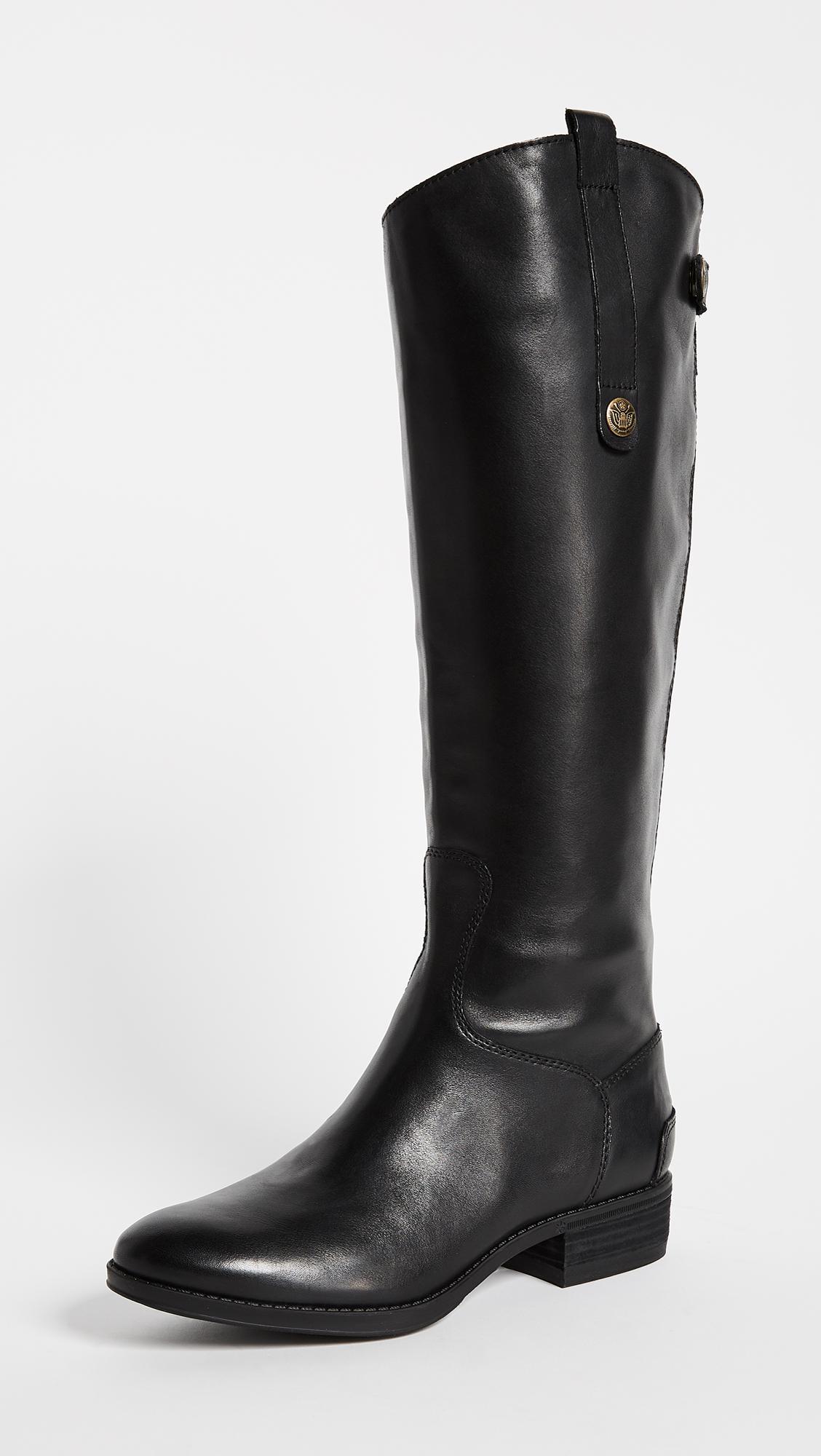 f32b4ebd908b Lyst - Sam Edelman Penny Riding Boots in Black - Save 1%