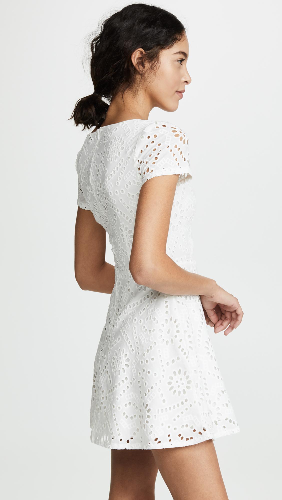 aad435d6026e Flynn Skye - White Maiden Mini Dress - Lyst. View fullscreen