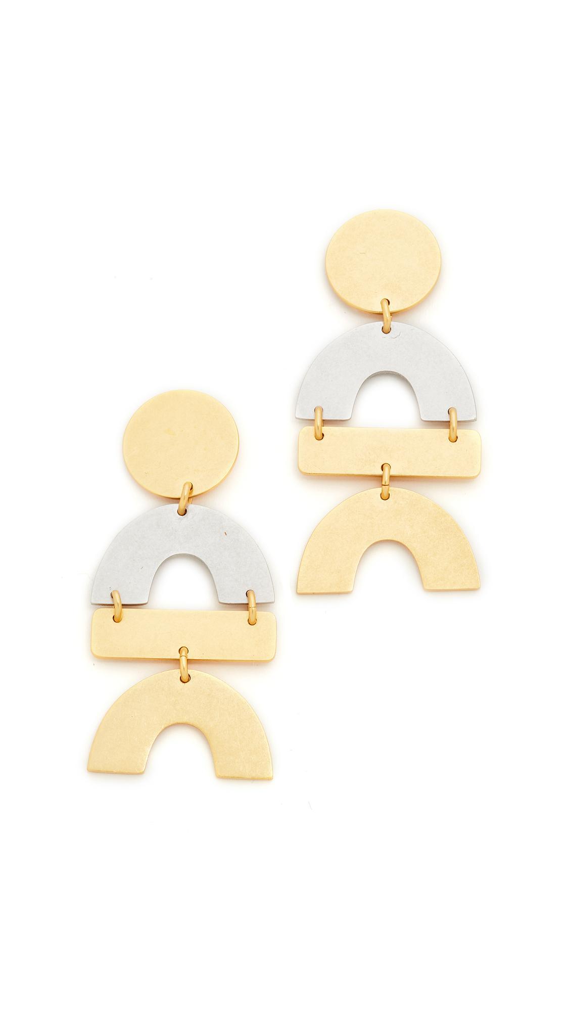 Madewell Matisse Statement Earrings qQDQr