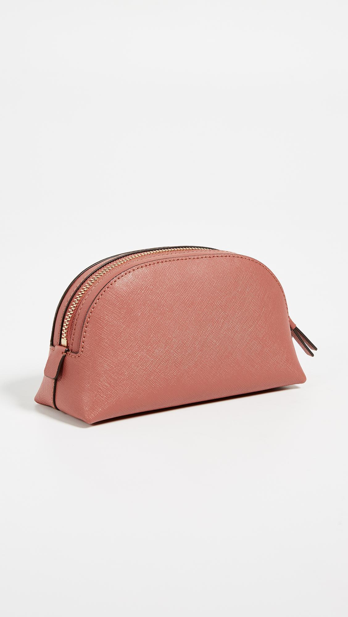 42d8c8aaaf33 Lyst - Tory Burch Robinson Small Makeup Bag