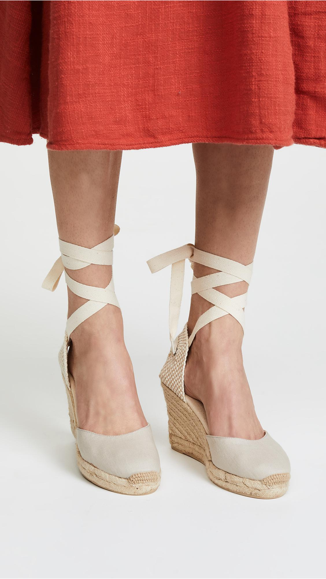 6d0c906d100 Lyst - Soludos Tall Wedge Espadrilles in Gray