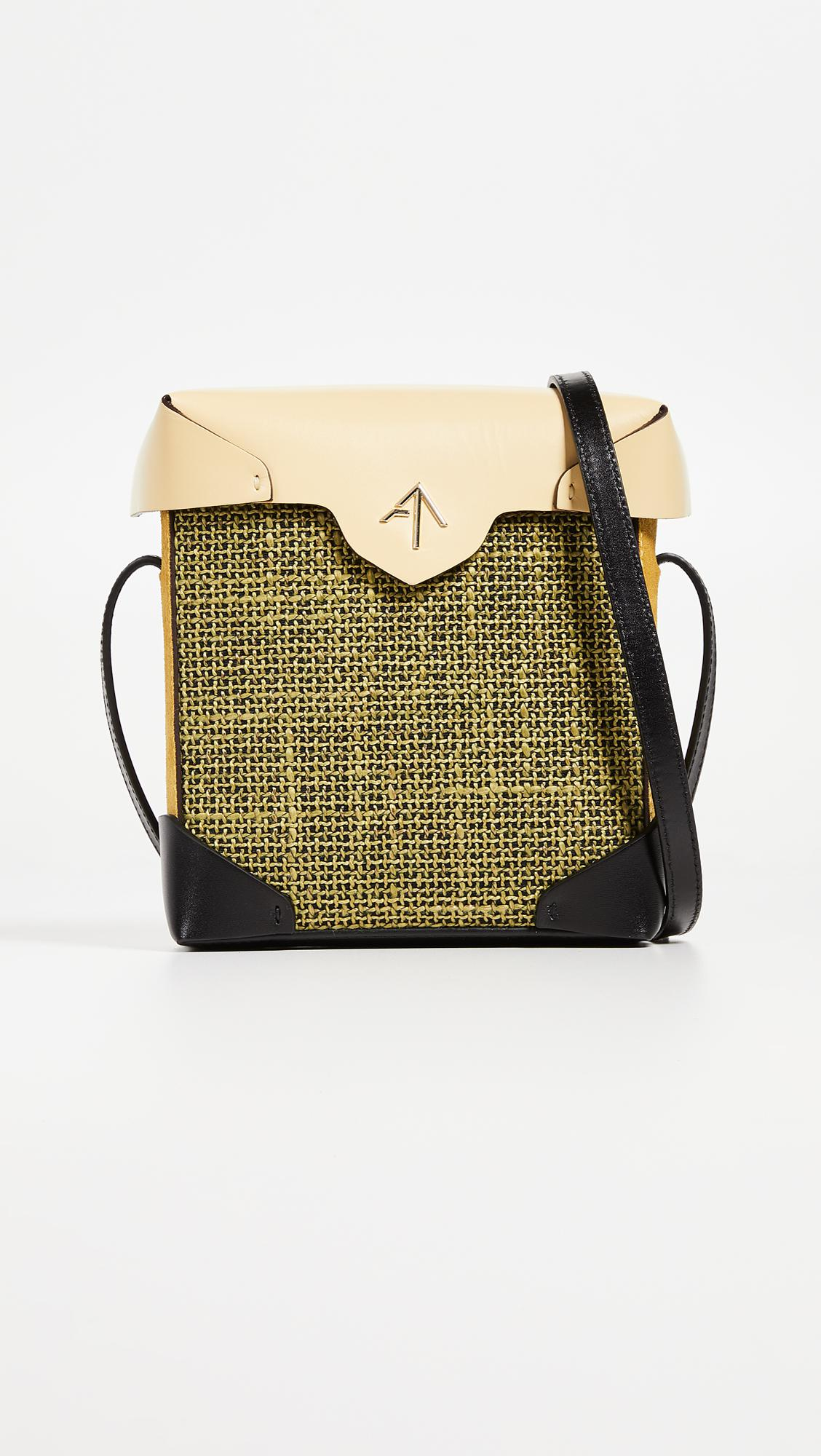 Mini Pristine Combo Tweed Box Bag Manu Atelier 100% Authentic For Sale 2018 Online Pay With Visa Cheap Online Free Shipping Best Sale Cheap Sale Websites dgzmhM