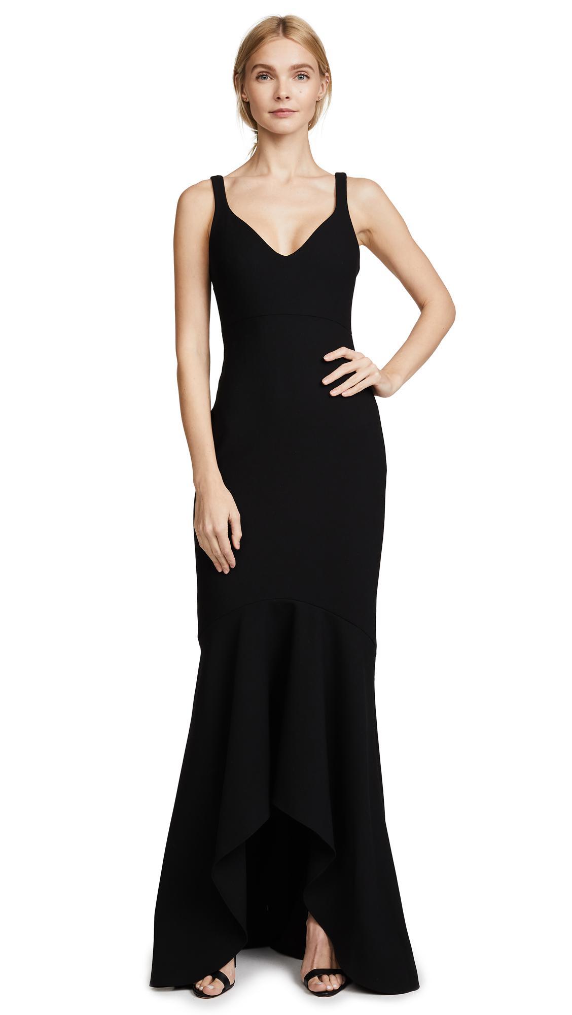 Cinq à Sept Sade Gown In Black Lyst