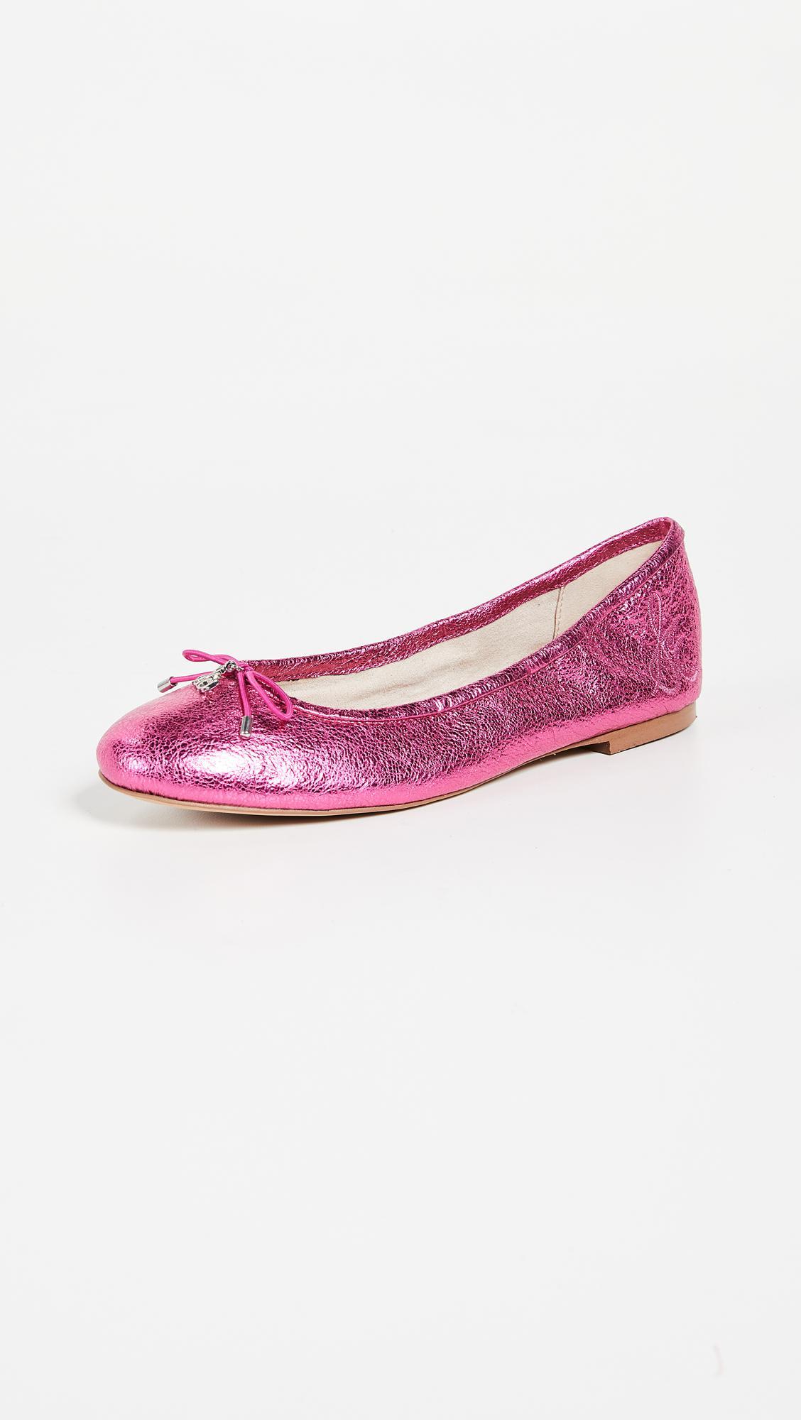 aa2e898b66127 Lyst - Sam Edelman Felicia Ballet Flats in Pink