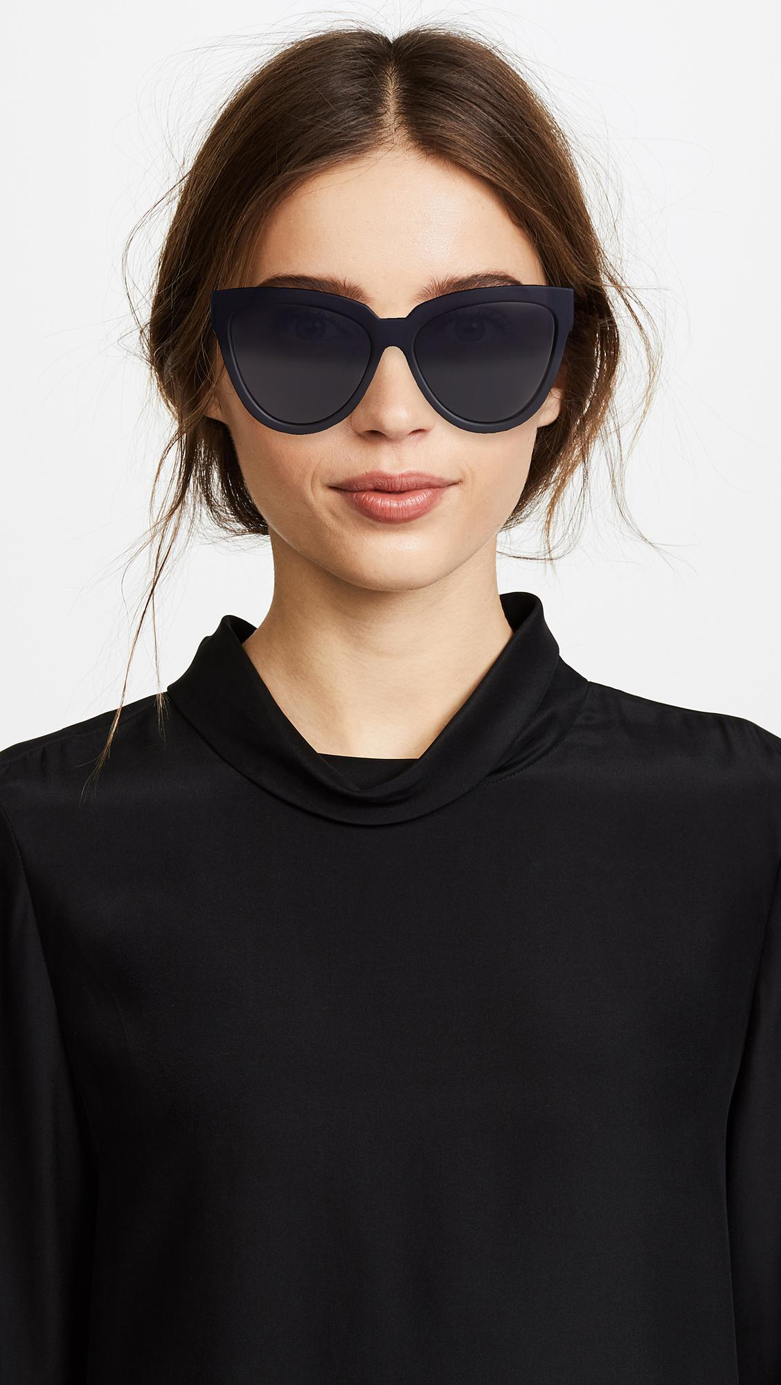 dfe48b8710 Le Specs - Black Liar Liar Sunglasses - Lyst. View fullscreen