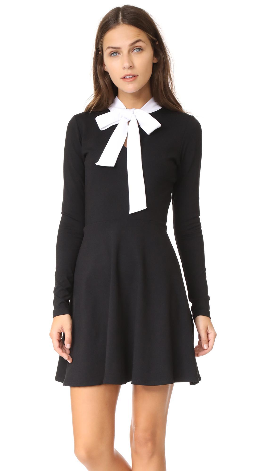 5b8f310757 Susana Monaco Neive Dress in Black - Lyst