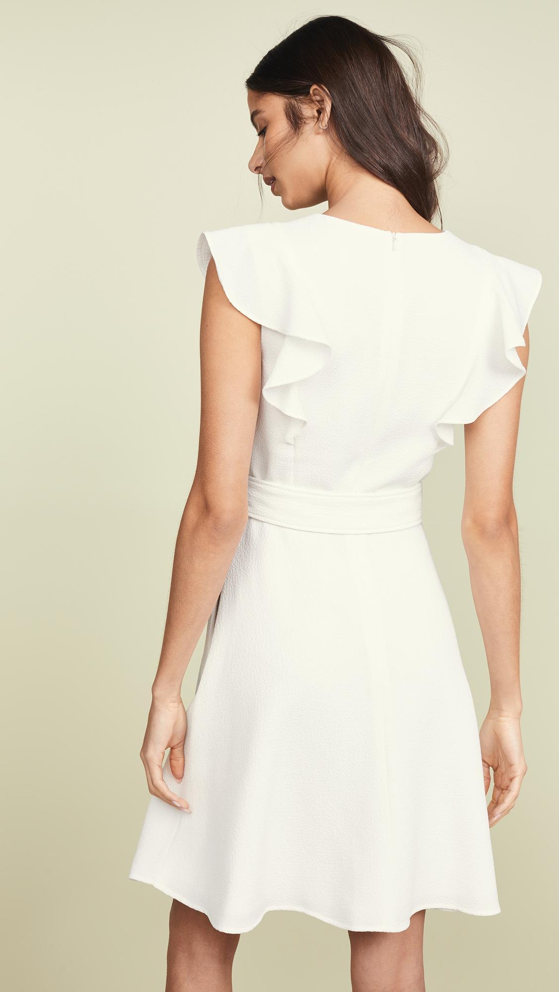 d2b75862f18 ... White Hailey Dress - Lyst. View fullscreen