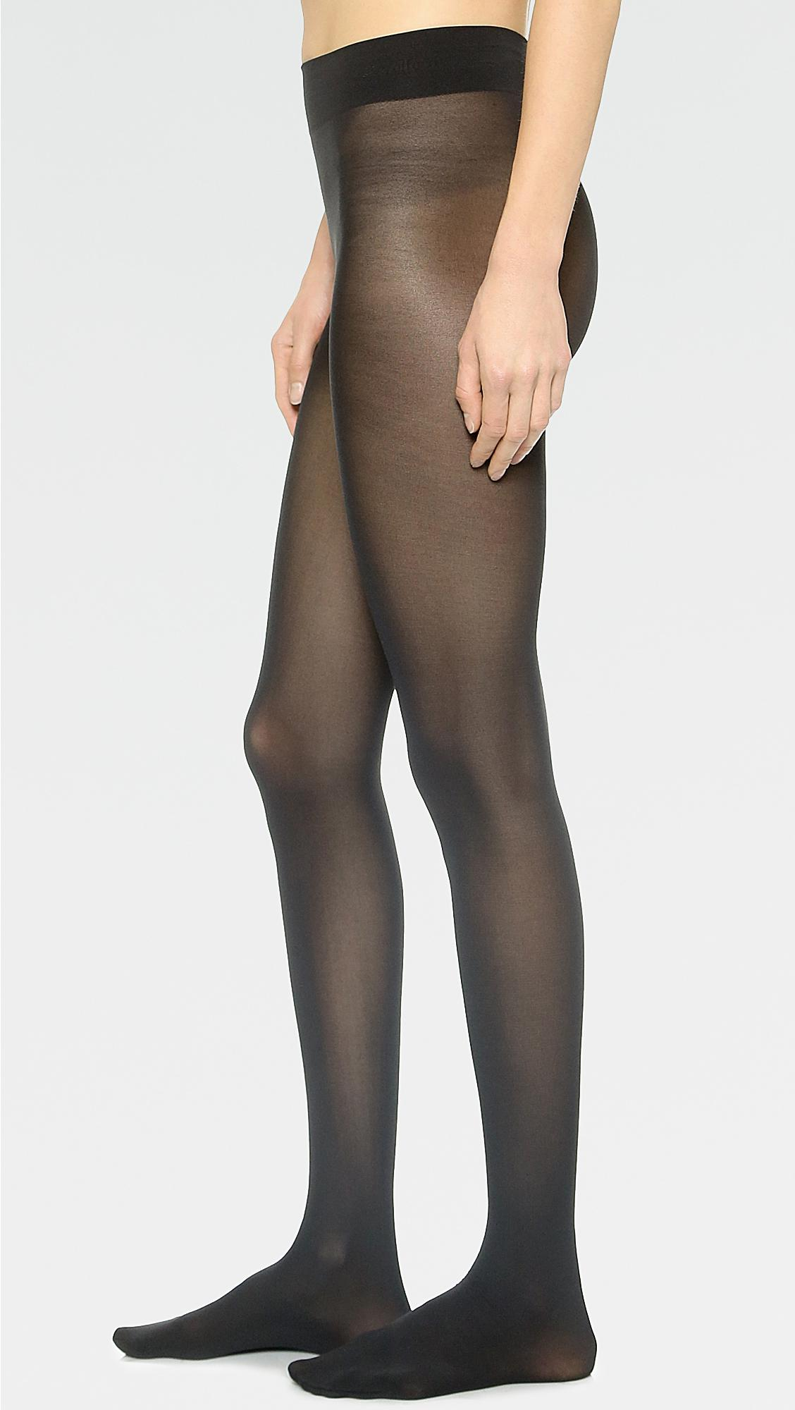 9514481a23a Wolford Seamless Pure 50 Tights in Black - Lyst